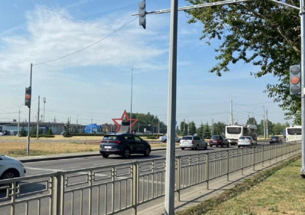 В Липецке тестируются новые светофоры